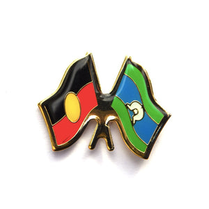 Aboriginal & Torres Strait Island Flag badge