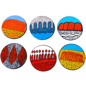Coasters - Australian Made - Walkatjara Art