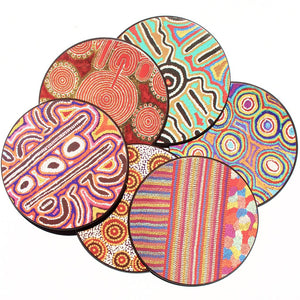 Coasters - Australian Made - Warlukurlangu Arts