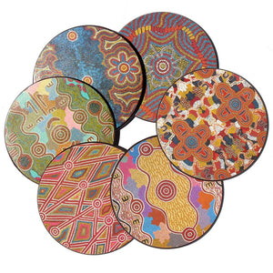 Coasters - Australian Made - Warumpi Art