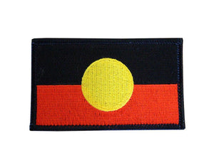 aboriginal flag patch