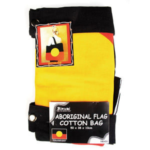Aboriginal Flag Cotton Bag