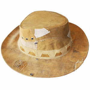Afro Blonde Recycled Truck Canvas Hat