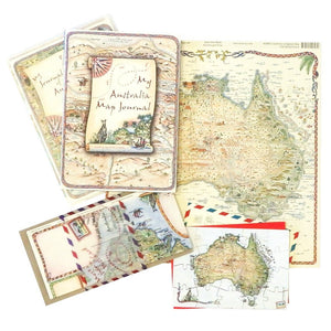 My Australia Map Journal - Paper Cover