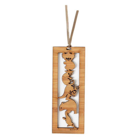 Wooden Bookmark - 5 Animals