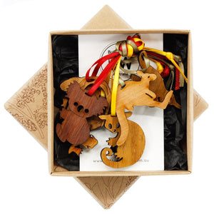 Box of Animal Decorations - Buttonworks