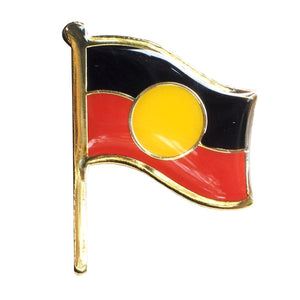 Aboriginal Flag badge - large