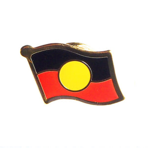 Aboriginal Flag badge - small