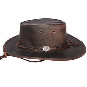 Foldaway Hat - Kangaroo, Detachable Chincord