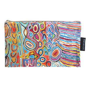 Cotton Zip Bag - Judy Watson