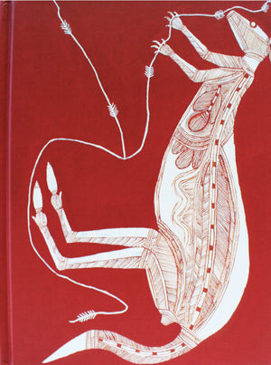 Blank Hard Cover Journal - 'Kangaroo' - Bardayal Lofty Nadjamerrek