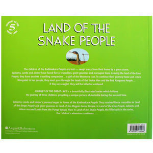 Land of the Snake People - Percy Trezise