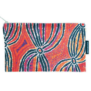 Cotton Zip Bag - Liddy Walker