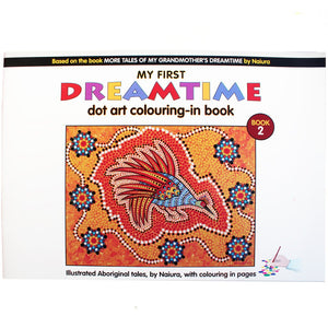 My First Dreamtime Dot Art Colouring-In Book, Book 2 - Naiura