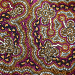 Handkerchief - Aboriginal Designed Cotton Fabric