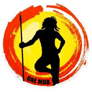 One Mob Planet Corroboree Sticker