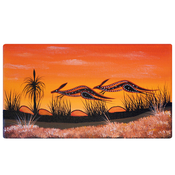 Kangaroo Sunset - John Rotumah