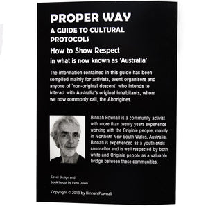 Proper Way - A Guide to Cultural Protocols