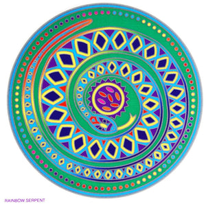 Rainbow Serpent - Sunseal Sticker