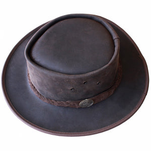 Rainrider - Leather Hat
