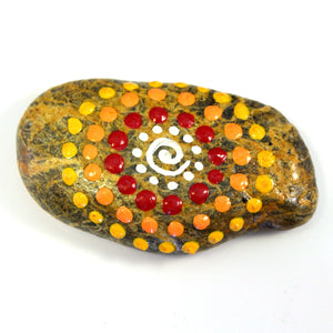 Painted Stone By Scott Rotumah