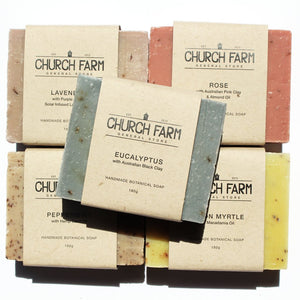Church Farm Natural Soap - Lemon Myrtle