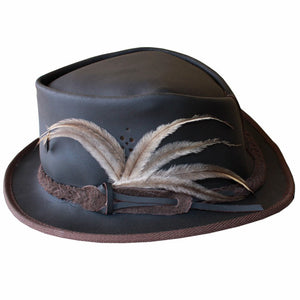 Hip Hop Hat, soft leather