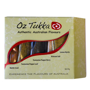 5 Australian Native Spice pack