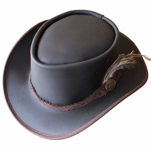 Leather Hat - The Old Softy