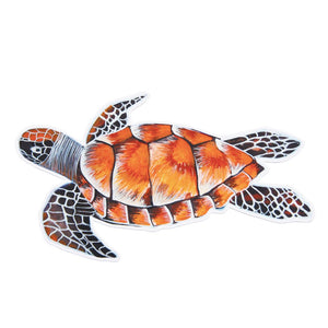 Turtle, Green Sea Sticker