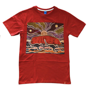 Uluru by Danny Eastwood Adult T-Shirt