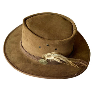 Waratah - Suede Leather Hat