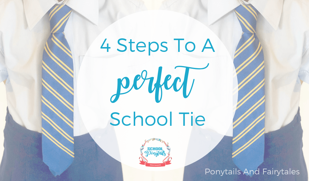 4 Steps to Tieing the Perfect School Tie