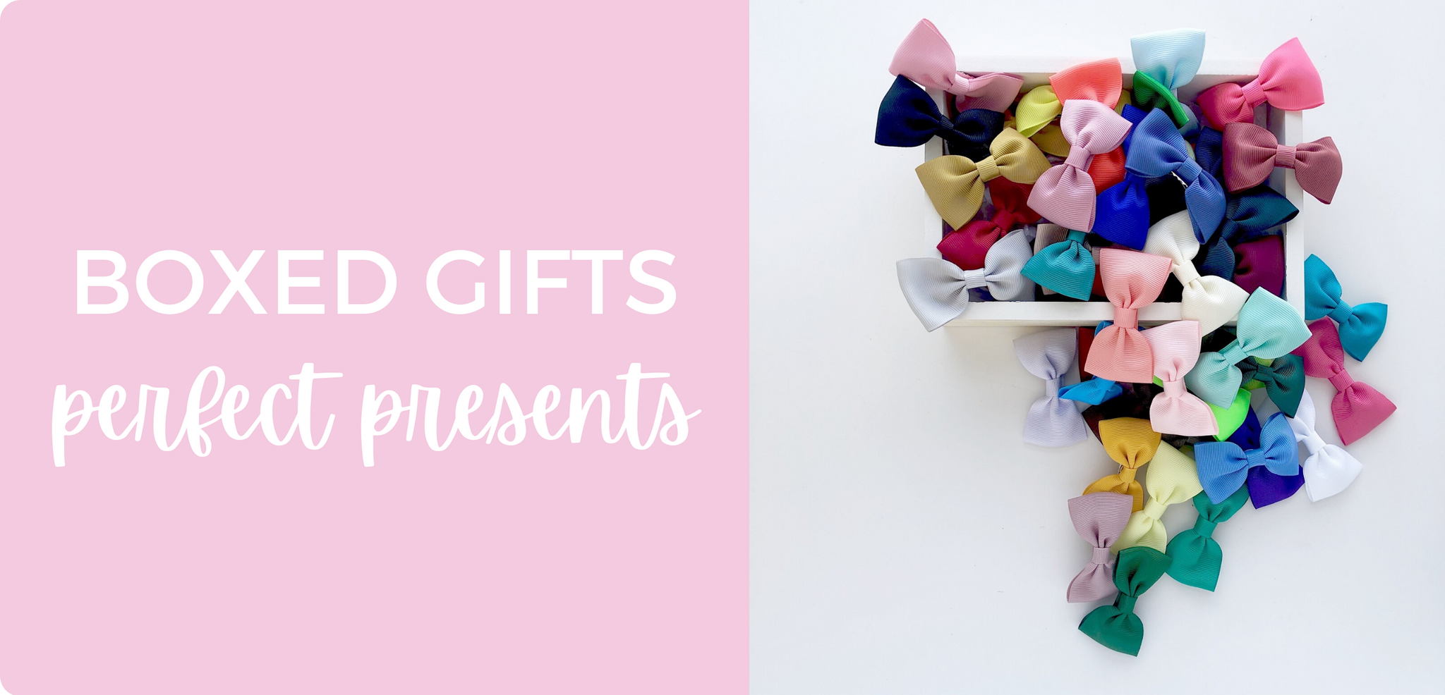 Boxed gifts - perfect presents - bows and clips in Australia with AfterPay