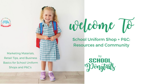 Join our Facebook Group for school uniform shop coordinators and school P&C, P&F