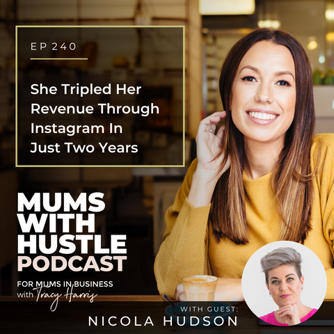 Mums with Hustle Podcast - Ponytails and Fairytales - Nicola Hudson
