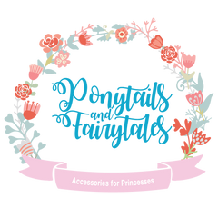 Ponytails and Fairytales | cute girls hair accessories and gifts | hair bows | hair ties | unicorns | mermaids | princesses | superheroes