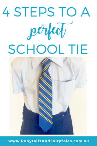 Perfect School Ties - School Ponytails