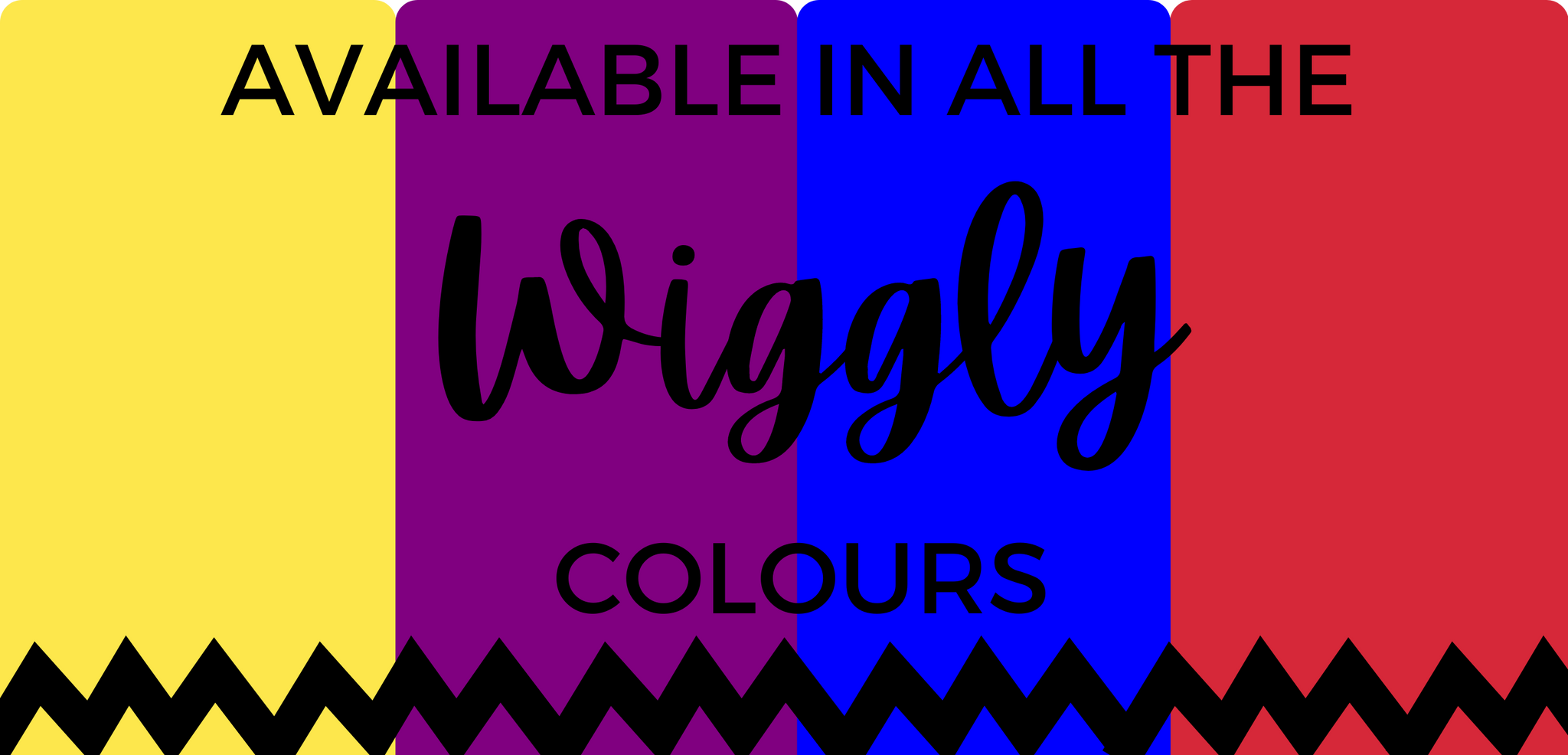 Wiggles colours available for girls and boys
