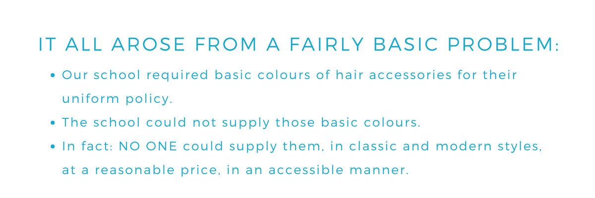 Why we started Ponytails And Fairytales