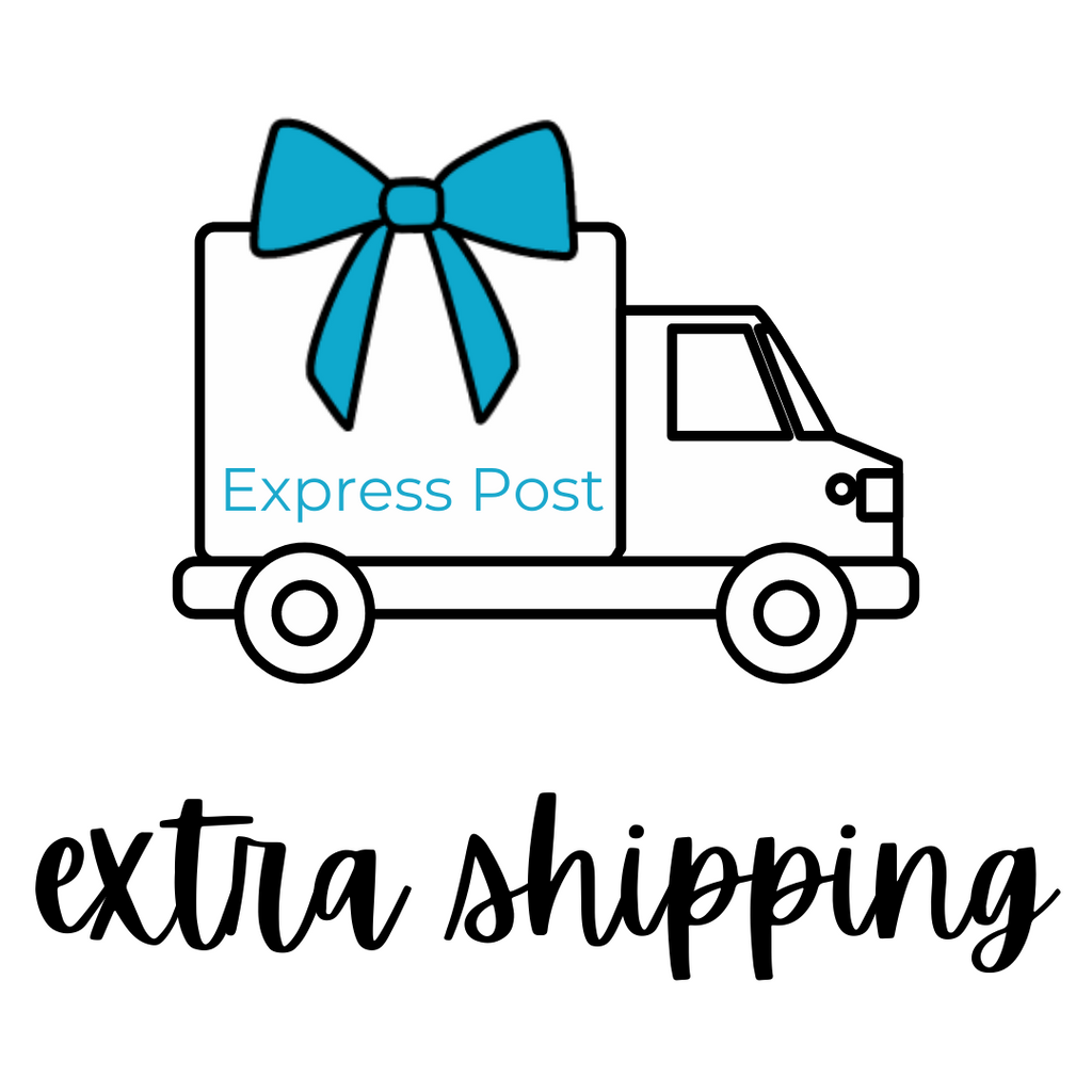 Add Extra Shipping - Express Post (+$11.95)