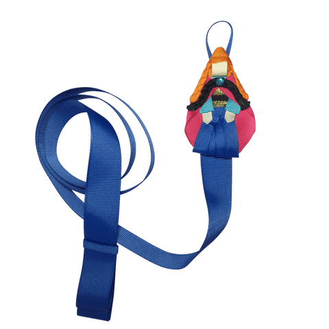 Anna Bow and Clip Organiser Wall Hanger - Storage and display - School Uniform Hair Accessories - Ponytails and Fairytales