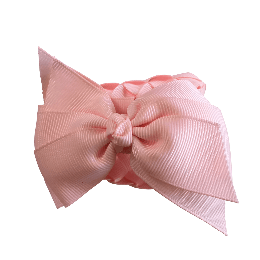 Ballet Pink Bun Wrap - Hair clips - School Uniform Hair Accessories - Ponytails and Fairytales