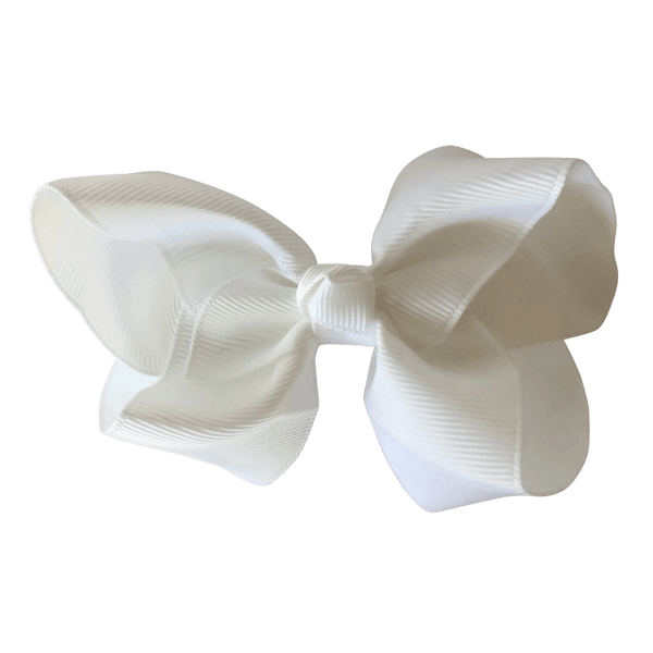 Big Bow - monochrome - Hair clips - School Uniform Hair Accessories - Ponytails and Fairytales