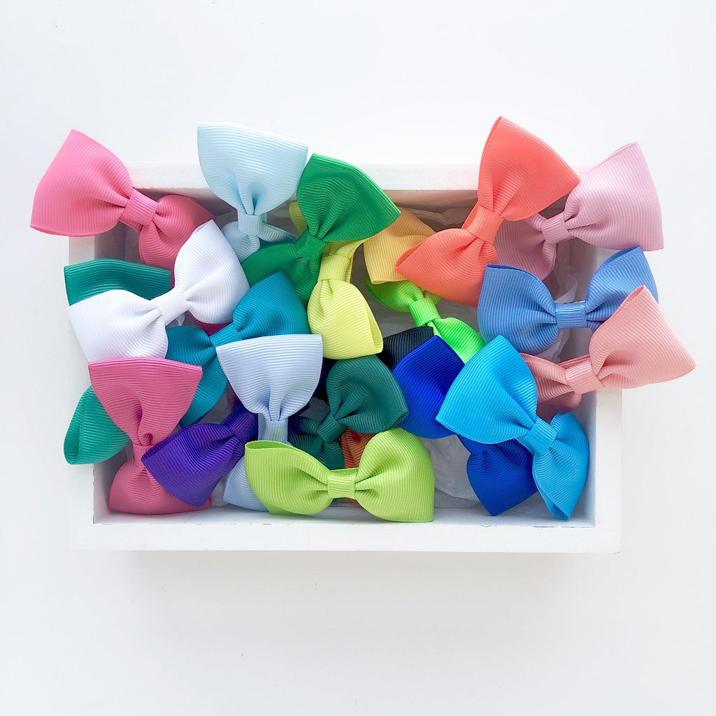 Birthday Bow Box - Bright (23pc) - Gift sets - School Uniform Hair Accessories - Ponytails and Fairytales