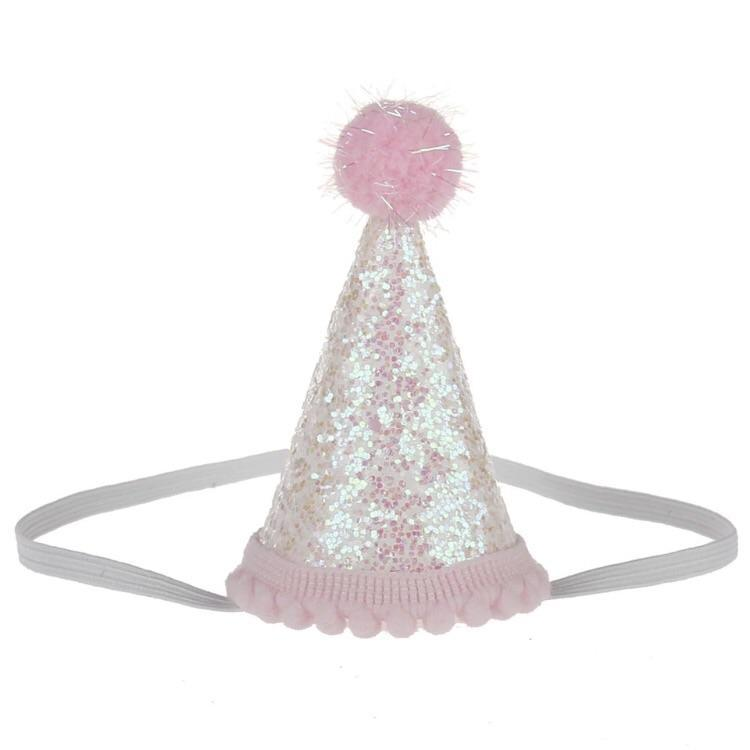 Birthday Hat Headband - clearance - School Uniform Hair Accessories - Ponytails and Fairytales