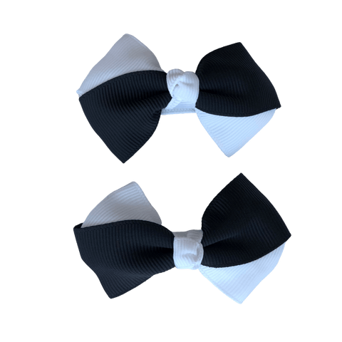 Black & White Hair Accessories - Assorted Hair Accessories - School Uniform Hair Accessories - Ponytails and Fairytales