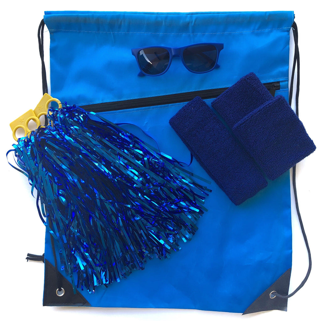 Blue Carnival Bag - Carnival and event - School Uniform Hair Accessories - Ponytails and Fairytales