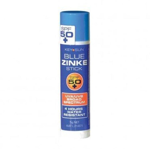 Blue Zinc Stick SPF 50+ - Coloured zinc SPF - School Uniform Hair Accessories - Ponytails and Fairytales