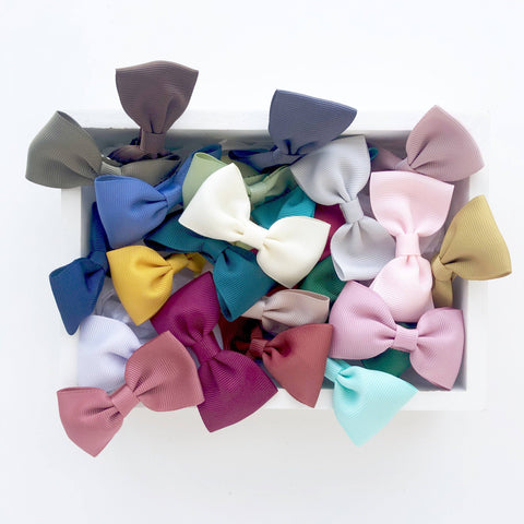Bow Box - Dusty (24pc) - Gift sets - School Uniform Hair Accessories - Ponytails and Fairytales